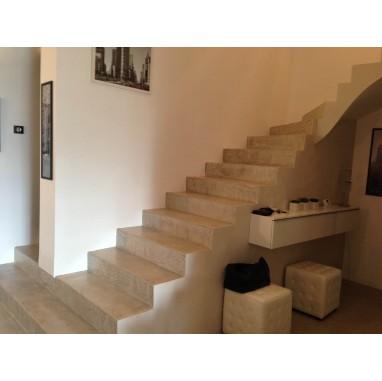 Kit béton ciré complet pour escalier