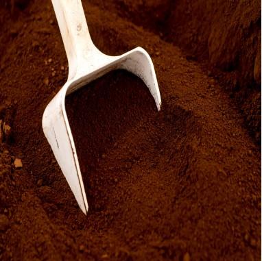 Pigment naturel pour béton et chaux:Terre d'ombre Calcinée