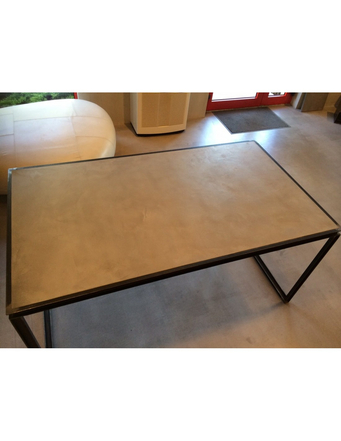 table beton cire exterieur elegant table basse en bton with table beton cire exterieur. Black Bedroom Furniture Sets. Home Design Ideas